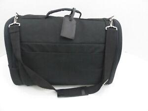 "Bergan Basics Black Canvas Travel Pet Carrier w/shoulder strap 18"" x 10"" x 10"""
