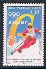 Andorre 1998 Yv N°498 Mnh**  Jeux olympiques d'hiver à Nagano : Ski alpin, super