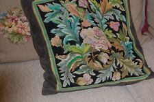 hand worked VINTAGE TAPESTRY cushion  complete with pad, Pack 3