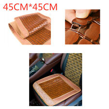 45CM*45CM Summer Single Bamboo Seat Cushion Car Mat Car Dual-Use Car Seat Cover