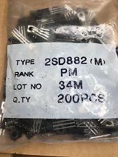 200 x 2SD882(M)  NEC Transistor Silicon Power