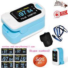 Finger Fingertip Blood Oxygen Meter SPO2 OLED Pulse Heart Rate Monitor,Pouch,HOT