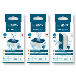 Ciano WATER CLEAR Filter Media Replacement Cartridge CF40 CF80 CFBIO Small / Med
