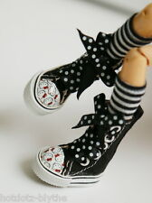Custom Shoes w/Hello Kitty For Blythe/Pullip/Monster High/Lalaloopsy/Licca SN336