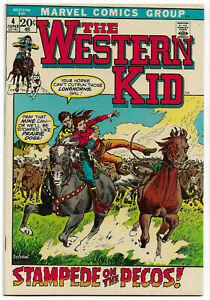 WESTER KID#4 VF 1972 MARVEL BRONZE AGE  COMICS $6 UNLIMITED SHIPPING