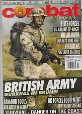 COMBAT AND SURVIVAL MAGAZINE MARCH 2014, SPECIAL OPERATION-FIREARMS-ELITE UNITS.