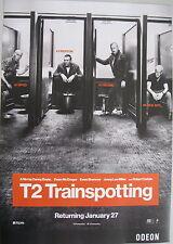 T2 trainspotting, danny boyle movie film poster A3, odeon cinema pub art, t2