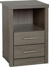 Less than 45cm Wood Veneer Modern Bedside Tables & Cabinets