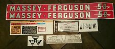 Massey-Ferguson 50 Tractor Complete Decal Set GREAT QUALITY VINYL