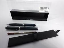 More details for hugo boss rollerball pen with refill & ballpoint pen set dark blue rrp €169