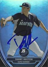 Danny Hultzen Seattle Mariners 2013 Bowman Platinum Signed Card