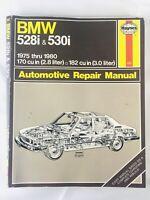 1983 Haynes 632 BMW 528i & 530i Auto Repair MANUAL 1975 -1980 170 & 182 cu in