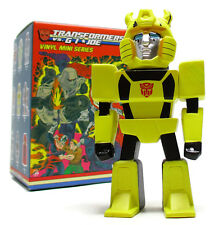 "Kidrobot TRANSFORMERS VS G.I. JOE Mini Series BUMBLEBEE 3"" Vinyl Figure"