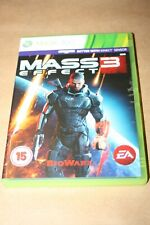 Mass Effect 3 - XBox 360 Game - 2 Discs - 2012 - Rating 15