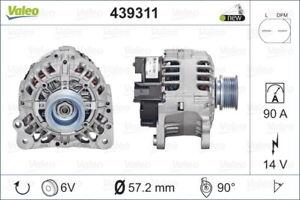 Valeo Alternator 439311 fits Volkswagen LT 28-35 2.5 TDI (2D) 61kw, 2.5 TDI (...