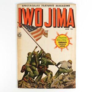 Iwo Jima Golden Age Comic Book #12 1950 Fox Comic Super Rare 5.0 VG+