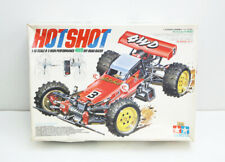 Hotshot TAMIYA Radio Control Car Red 1/10 Vintage 1985 Original Box Japan