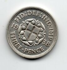 Great Britain - Engeland - 3 Pence 1938