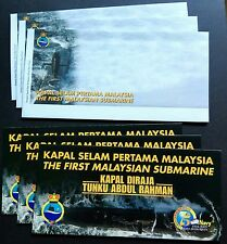 2009 Malaysia First Malaysian Submarine, Blank FDC x1 Lot of 3 blank Covers