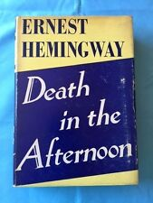 DEATH IN THE AFTERNOON - 1947 REPRINT BY ERNEST HEMINGWAY