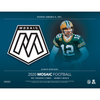2020 MOSAIC FOOTBALL FACTORY SEALED HOBBY BOX IN STOCK FREE SHIPPING