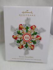 2011 Hallmark Keepsake Ornament Savory Snowflake Kitchen Utensils Wooden Spoon