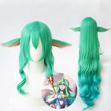 100cm Wig LOL Soraka Wig Star Guardian Cosplay Costume Hair Wig Free Net