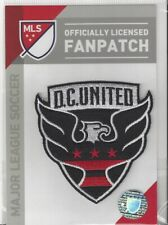 """DC United MLS Soccer Patch 3"""" x 3"""" Sew On Iron On Official Futball Logo"""