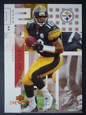 NFL 190 Kordell Stewart Pittsburgh Steelers Upper Deck MVP 2002