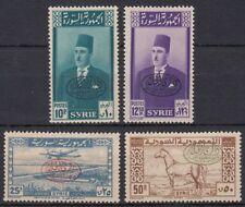Syrien Syria 1946 ** Mi.540/43 Abzug Truppen Troups Militär Military Armee Army