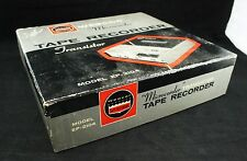 Vintage Webcor Microcorder Tape Recorder Transistor Model EP-2104 Reel to Reel
