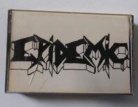 "Epidemic ""Demo '89"" Demo Tape Cassette Bay Area Thrash Metal Palo Alto"