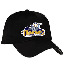 Tiburones Aguadilla Puerto Rico Baseball Cap Hat Black and Blue