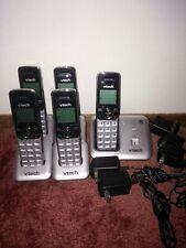 VTech CS6419 DECT 6.0 Expandable Cordless Phone Caller ID/Call Waiting 5 Handset