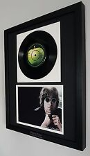 John Lennon Original Vinyl Record 'Imagine' Plaque-Certificate-Very RARE-Beatles