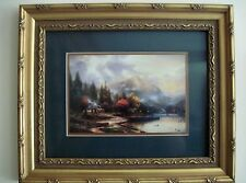 """Thomas Kinkade Framed and Matted Picture 15"""" X 18"""""""