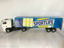 Lion Car Toys no. 36 Daf 95 XF Sportlife Twisty Lemon Long Trailer Truck