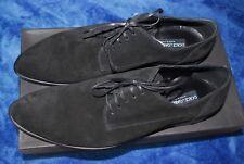 NEW Dolce & Gabbana Black Suede shoes EU 11 US 12