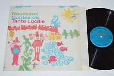 TANTE LUCILLE Nouveaux Contes de LP 1966 RCA Gala Canada CGPS-232 Kids VG/NM