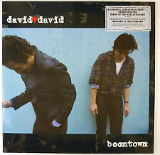 """12"""" LP - David + David - Boomtown - B3254 - washed & cleaned"""