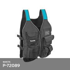 Makita P-72089 Tool Vest for Professional Worker Universal Size 1.6lb 25x20 Inch
