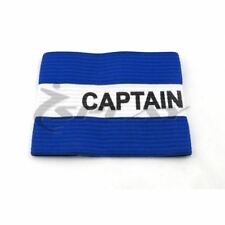 Captain arm band Senior (Blue/White) Sports football games band armbands rugby