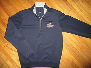 TOLEDO MUD HENS PULLOVER JACKET Embroidered Logo Baseball Minors Sweatshirt SM