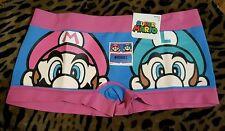 Super Mario Bros Boy Short Underwear NWT  # Heroes Seamless LARGE L