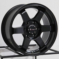 One 17x8.5 Vors VE37 fit Tacoma 4Runner FJ Cruiser 6x5.5/6x139.7 0 Matte Black W