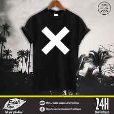 The XX T Shirt Top Rum Band Coexist Indie Crooks Rock Amsterdam White Black Tee