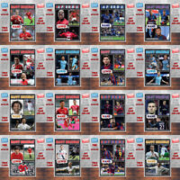 Personalised Kids Adults CUSTOM Football Birthday Cards - Any Team Any Player B2