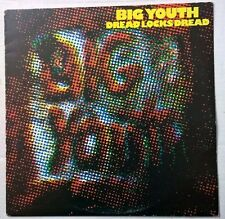 BIG YOUTH vinyl LP ❂ Dreadlocks Dread ❂ 1978 front line FL1014 tony robinson UK