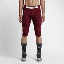 Nike Stock Open Field Mens Football Pants White Cardinal Red Size Xxl 615745-670