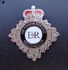 HM HMP Prison Service CREST tie tac pin badge ~